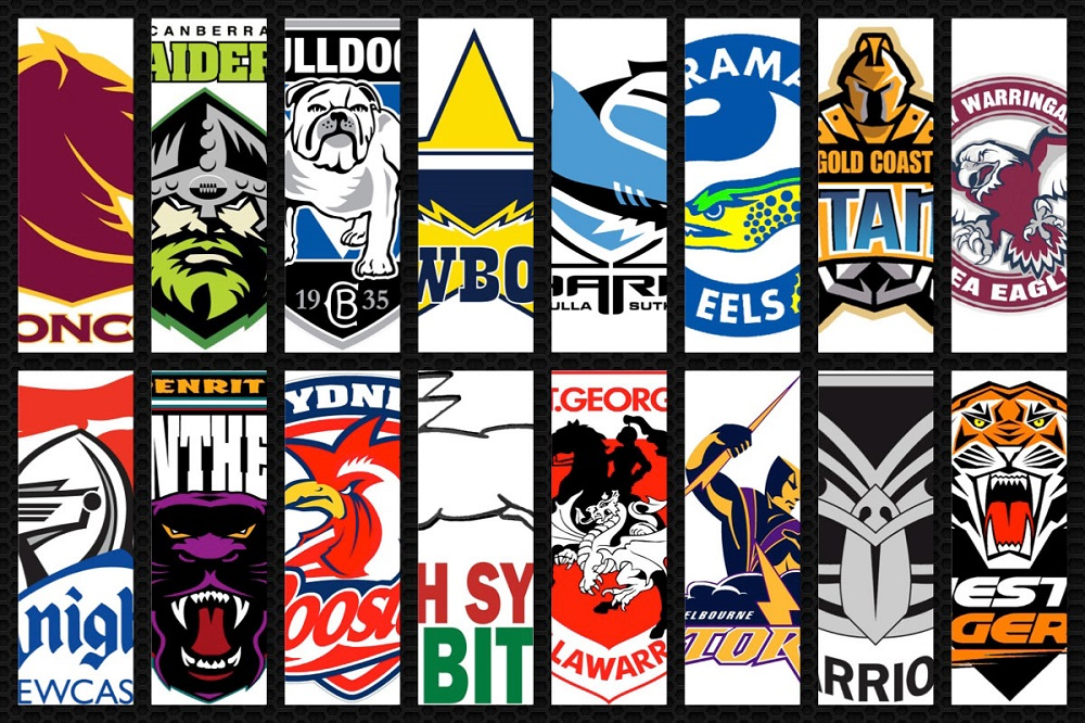 NRL team logos - sports betting online - best betting offers