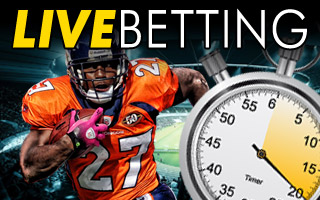 live betting - prop bets online - sports betting online