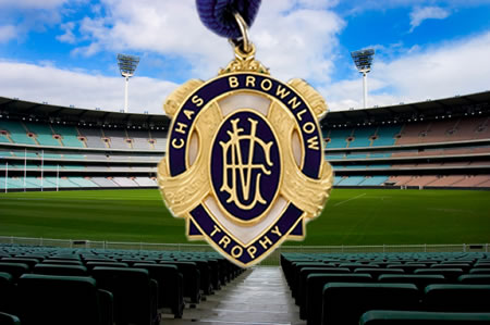 Live AFL Betting - Chas Brownlow Trophy - Australian Football League
